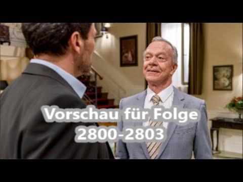 Sturm der Liebe Vorschau für Folge 2800  - 2803