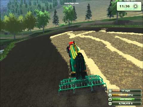 Farming Simulator Køre gylle