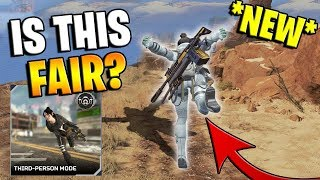 *NEW* 3RD PERSON GAME MODE... IS THIS FAIR??? (Apex Legends)