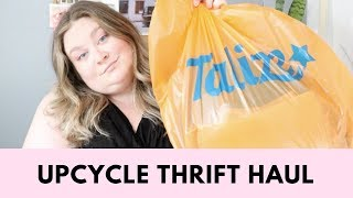 Talize Upcycle Thrift Haul | Danielle McAllister | Plus Size