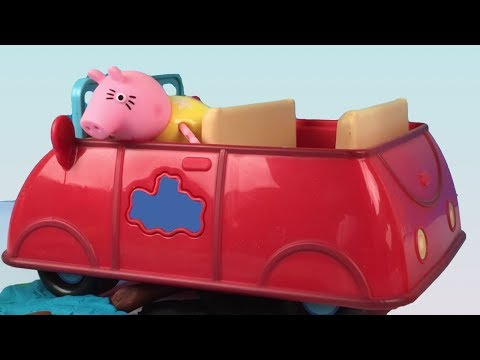 UNBOXING PEPPA PIG PICNIC TIME STORY - CANDY CAT PEPPA AND FAMILY HEAD TO THE WOODS AND FIND A PUPPY from YouTube · Duration:  7 minutes 8 seconds