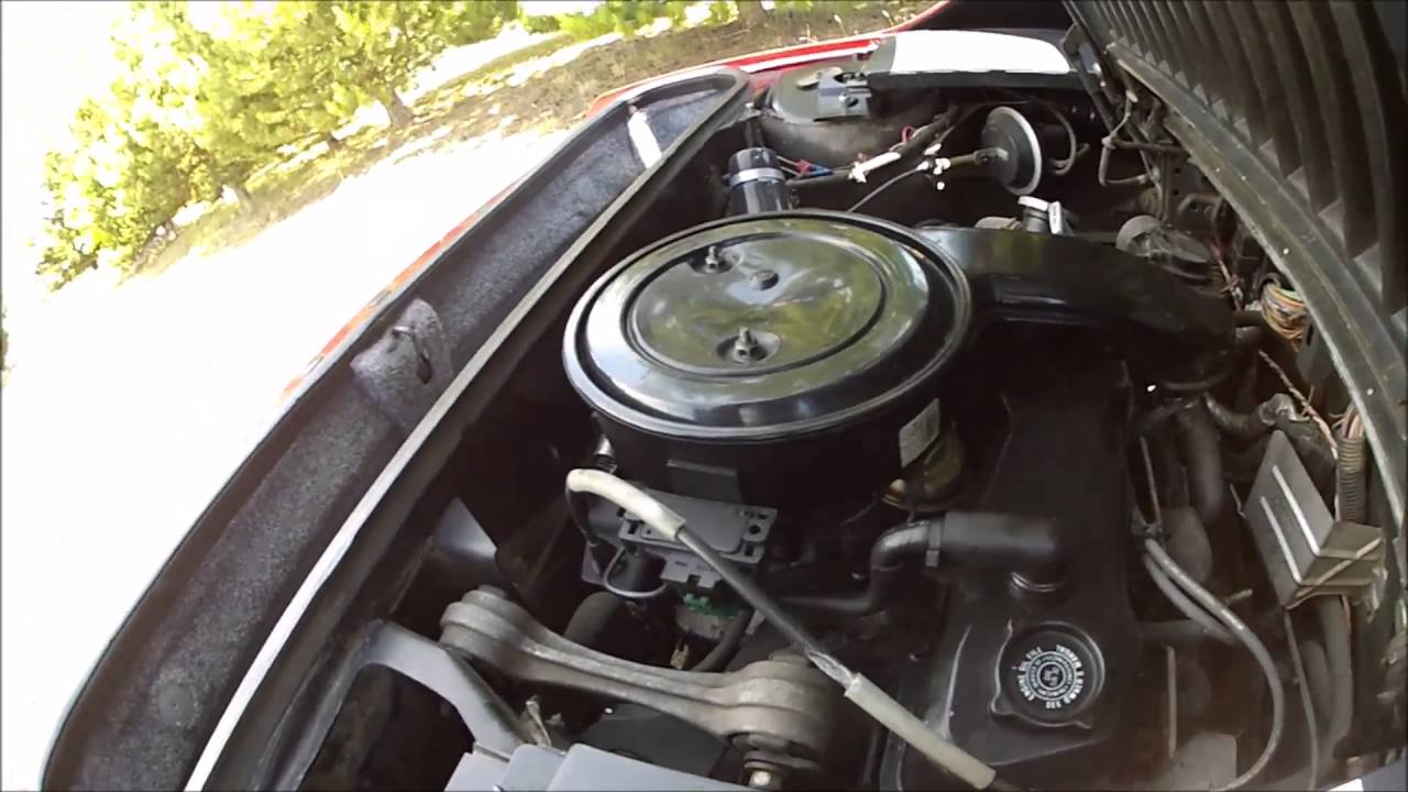 medium resolution of 1984 pontiac fiero 4 cyl 2 5l iron duke engine running 7 25 16