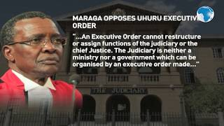 JSC is an independent body - Maraga's response to Uhuru's executive order