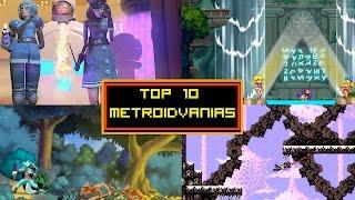 Top 10 Metroidvanias