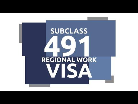 NEW Skilled Work Regional 491 Visa & Permanent 191 Visa Pathway