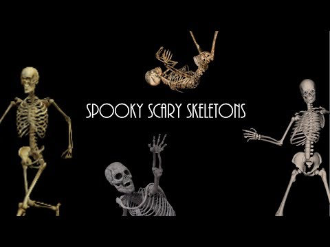Spooky Scary Skeletons - TheLivingTombStone (Lyrics) FUN AND ENJOYABLE