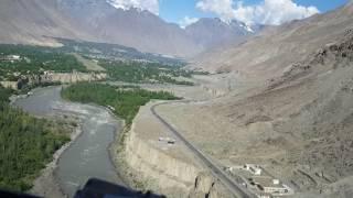 Capt.Janjua Spectacular Pakistan... ISLAMABAD TO GILGIT ATR Landing