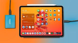 iPad Pro + External Storage | Photo/Video Workflow Demo! screenshot 5