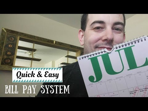 Quick And Easy Bill Pay System