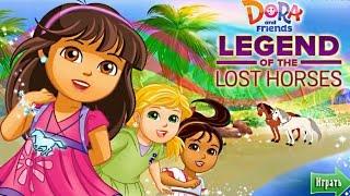Даша Легенда о Потерянной Лошади # Мультик игра Даша Путешественница новые серии