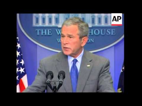 President Bush says US is not in an economic recession
