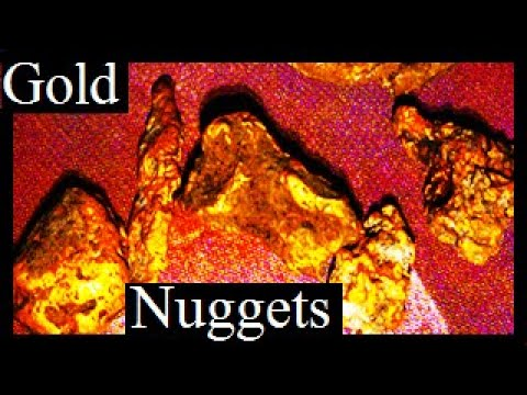 ELECTRONIC GOLD PROSPECTING SHORT MOVIE (Five Gold nuggets found: Subscribe to see more)