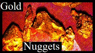ELECTRONIC GOLD PROSPECTING SHORT MOVIE (Five Gold nuggets found: Subscribe to see more) thumbnail