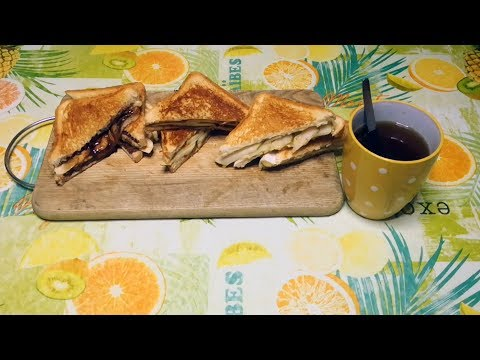 Three awesome sandwich ideas