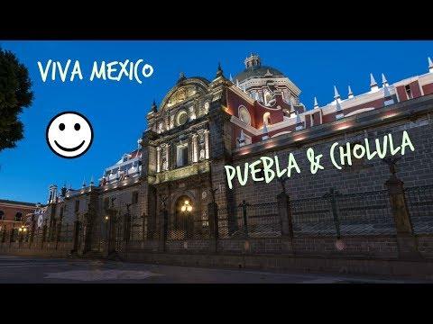 GoPro HD Mexico Puebla - Cholula EPIC Central america trip