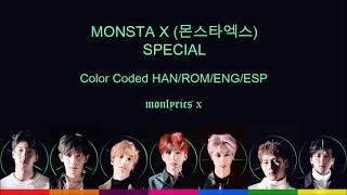 Monsta X  몬스타엑스  - Special  Color Coded Han/rom/eng/esp Lyrics