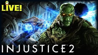 Raiden and Swamp Thing | Injustice 2