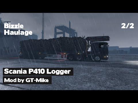 ETS2 - Scania P410 Logging Truck: Part 2 of 2