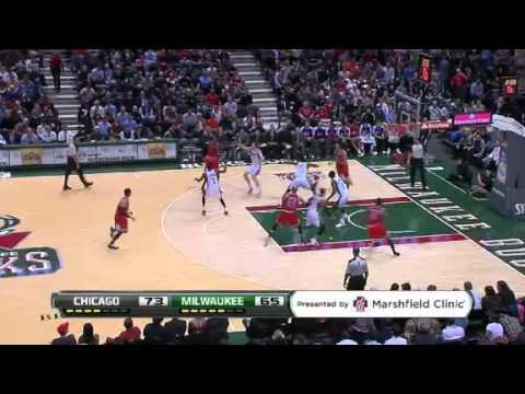 Bulls vs. Bucks | Game Recap  | NBA 2012-13 Season 30/01/2013