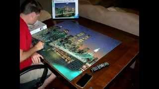 Brooklyn Bridge Puzzle (2000 Piece) Time-Lapse