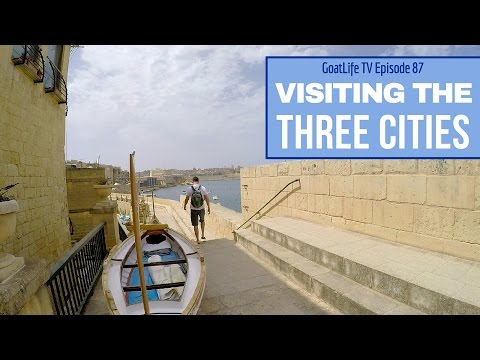 Visiting The Three Cities in Malta