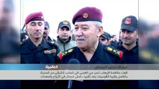 قوات مكافحة الإرهاب تحرر حي العربي في الجانب الشرقي من مدينة الموصل
