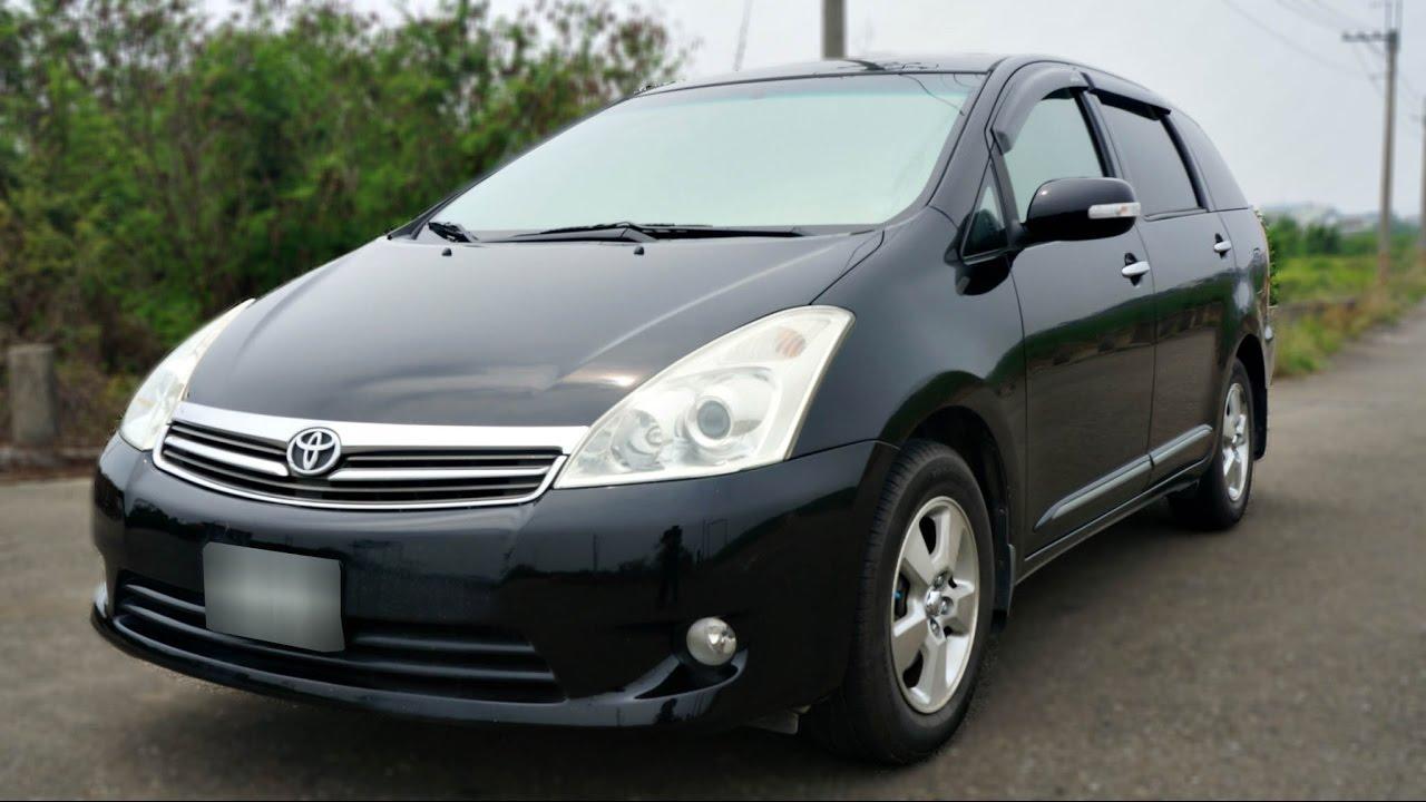 2007年 Toyota Wish 黑色 豐田中古車 - YouTube