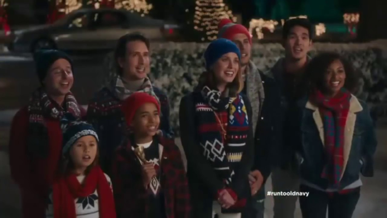List of Synonyms and Antonyms of the Word: old navy christmas commercial