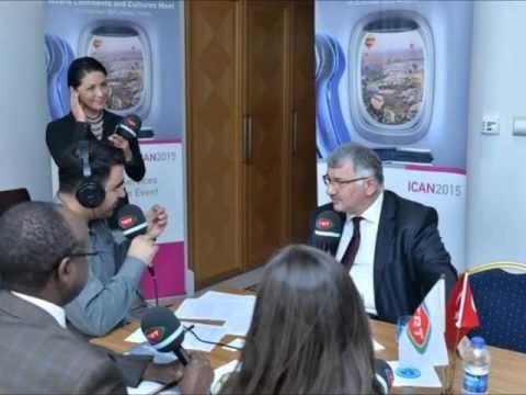 TRT Radyo Gündem Özel Programı ICAN2015 Bilal EKŞİ