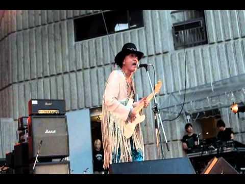 Jimi Hendrix tribute JIMISEN Plays 2012 Yaon