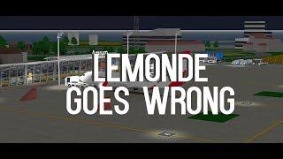 LeMonde Flug!! | GONE TERRIBLY WRONG!! :( | ROBLOX