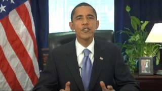 11/22/08: President-elect Obama's Weekly Address thumbnail
