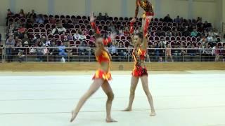 Акробатика: женская тройка, программа М/С 13-19 лет