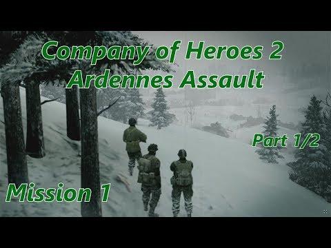 COH2 Ardennes Assault: Mission 1 (Part 1/2) (General) |