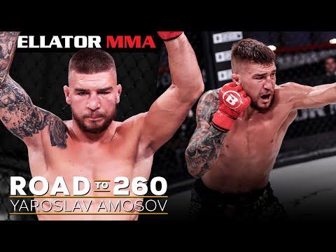 Highlights: Yaroslav Amosov's Dominant Run to Title Challenger | BELLATOR MMA