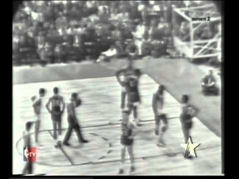 SAN FRANCISCO WARRIORS vs CELTICS NBA FINALS G4 - 1964