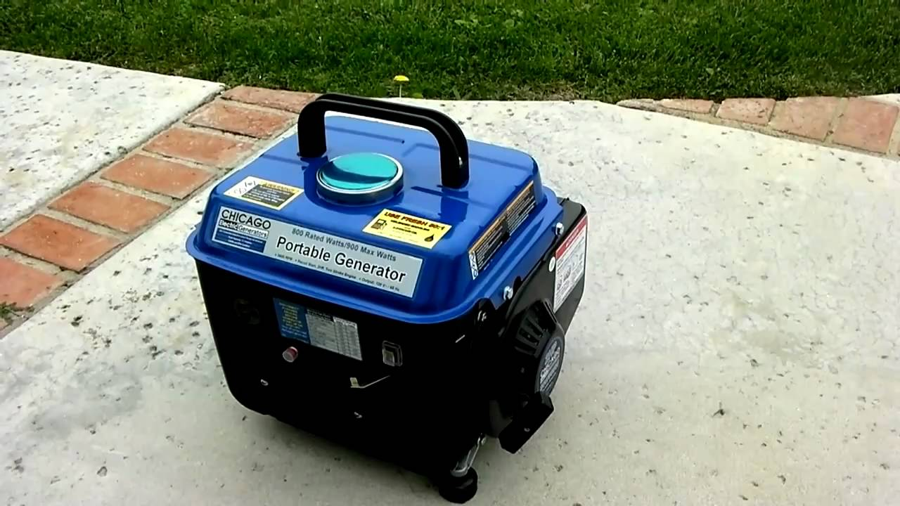 small resolution of testing my new chicago 800 watt portable electric generator youtube where ca i find a diagram for a 2hp chicago electric generator 800