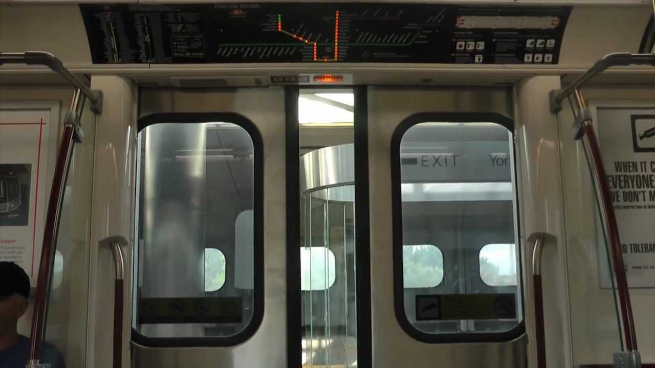 & TTC SUBWAY CLOSING DOOR CHIMES SPECIAL - YouTube