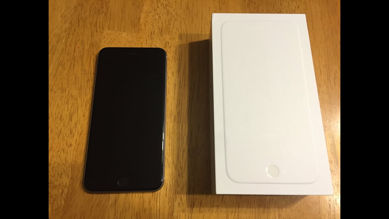 iPhone 6 Space Grey 64GB Unboxing! (3 months later) - YouTube