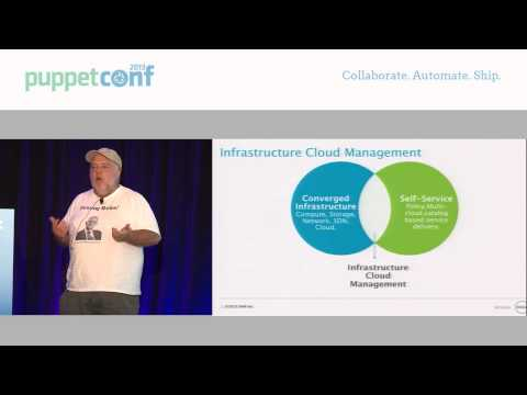 Infrastructure Cloud Management - PuppetConf 2013