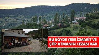 Bu Köyde Yere İzmarit, Çöp Atana Çalışma Cezası Veriliyor