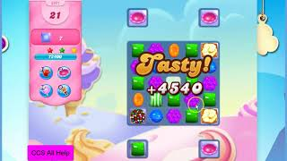 Candy Crush Saga Level 2921 NO BOOSTERS Cookie