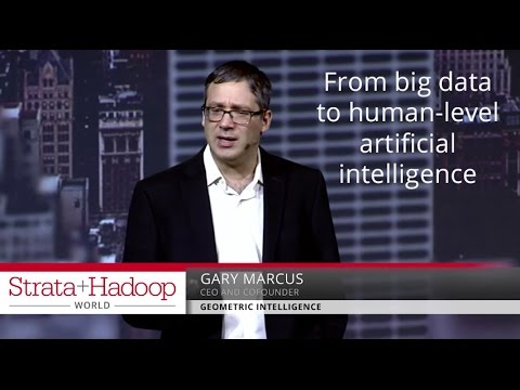 From big data to human-level artificial intelligence – Gary Marcus (Geometric Intelligence)