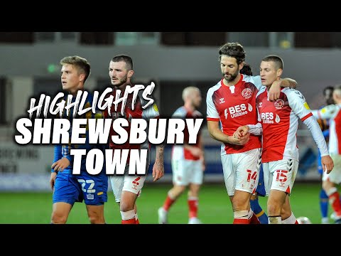 Fleetwood Town Shrewsbury Goals And Highlights