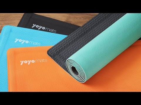 What if your yoga mat rolled itself?