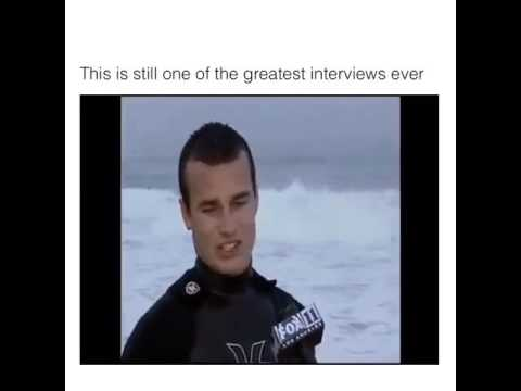 The Greatest Interview Ever 😂