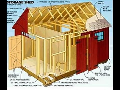 Shed Ideas Designs 10x12 storage shed ideas shed blueprints shed ideas designs How To Build Your Own Shed From Scratch And Save Time And Money Youtube