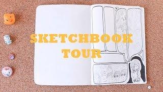 Sketchbook Tour 2   My High School Sketchbooks
