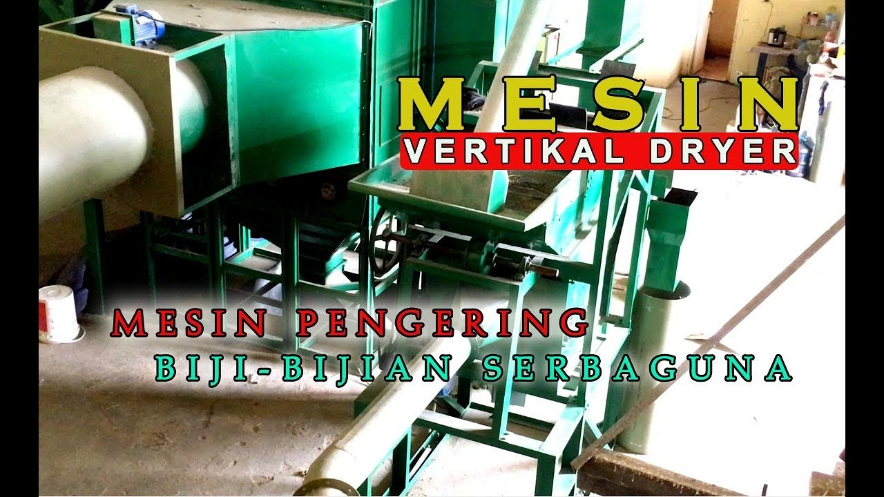 Mesin Vertikal Dryer, Mesin Pengering Biji-bijian,jagung, gabah, Kedelai, Kopi, Dll - Mesin Modern