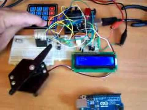 Password Lock With Arduino With Lcd And Keypad Youtube